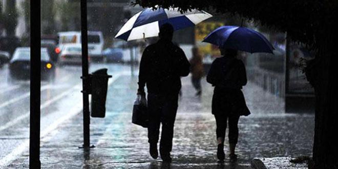 Ülke genelinde yağışlı bir gün