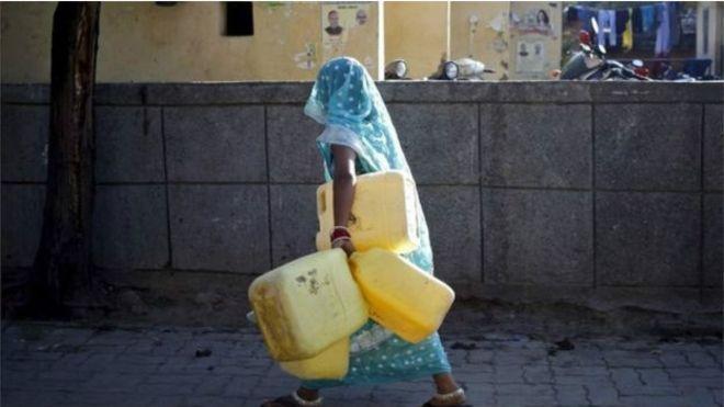 Hindistan'da 10 milyondan fazla kişi susuz