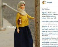 Başörtülü Barbie'ler Instagram fenomeni oldu