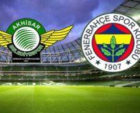 Fenerbahçe Akhisar engelini kolay geçti