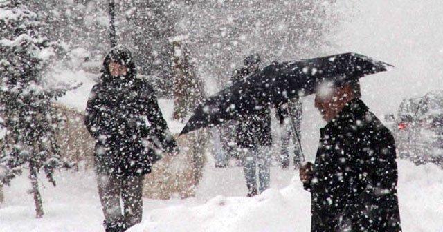 Meteorolojiden soğuk hava ve kar uyarısı
