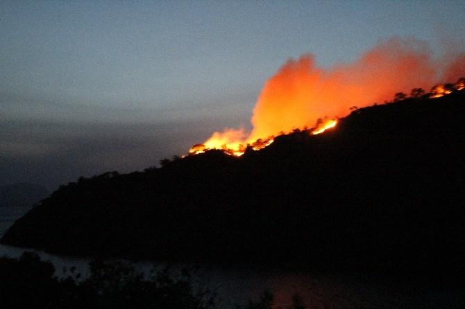 Marmaris'te yangın