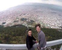 Tüyler ürperten selfie!