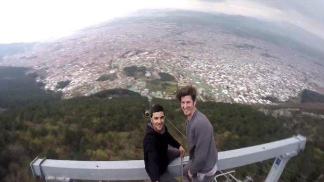 selfie teleferik