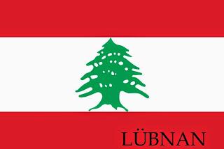 lübnan bayrak