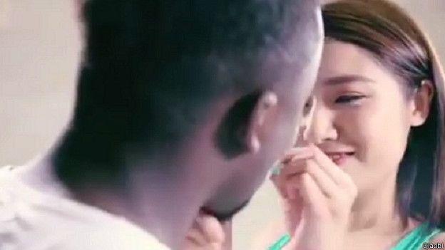 Çin'de bu reklam büyük tepki aldı