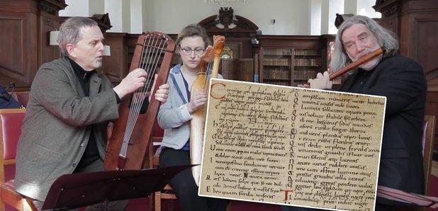 1000 yıl sonra ilk defa çalınan şarkı