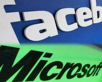 Facebook ve Microsoft'tan dev atak!
