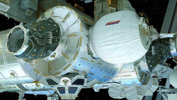 Uzay istasyonuna şişme oda projesi askıya alındı