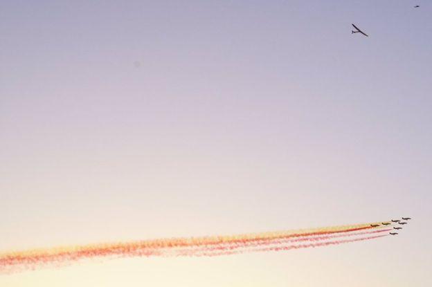 Solar Impulse Atlantik'i aşarak Sevilla'ya indi – İzle