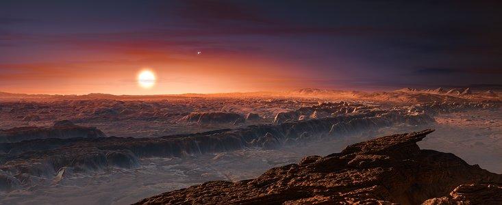 Proxima Centauri'nin yörüngesinde bir gezegen bulundu