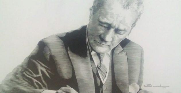 """""""Dün gece rüyamda Mustafa Kemal'i gördüm"""""""