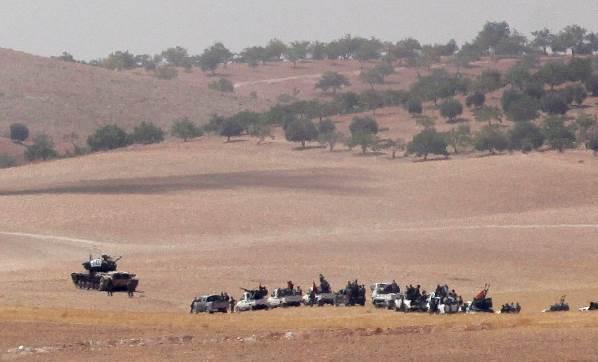 Türk savaş uçakları Menbic'in kuzeyinde 'YPG'yi vurdu'