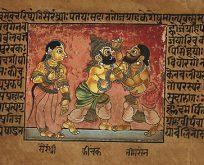 Dünyanın en eski destanı 'Mahabharata'