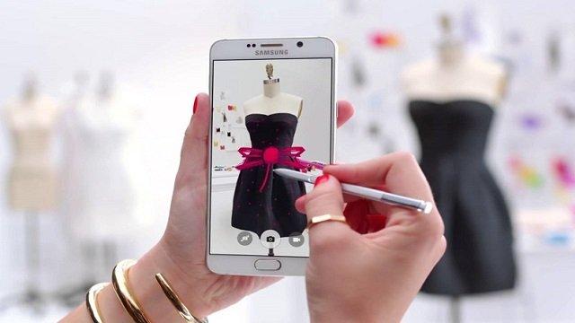 Galaxy note 7'nin s pen'indeki yeni özellikler