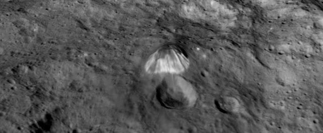 Ceres üzerindeki piramitle ilgili açıklama