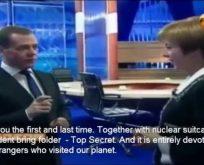 """""""Uzaylıların burada yaşadığını dünyanın bilmesi gerek!"""""""