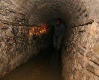İzmir'de binlerce yıllık bir tünel bulundu