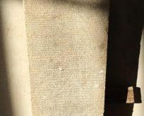 Teos antik kentte 2200 yıllık kira sözleşmesi bulundu
