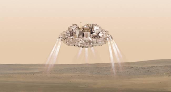 NASA kayıp Schiaparelli'yi buldu