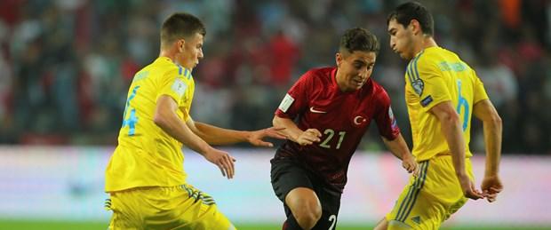 Milli takımımız Ukrayna'yı elinden kaçırdı!