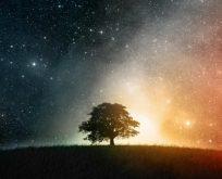 Gökyüzünde öncü burçlarda gerçekleşen kare