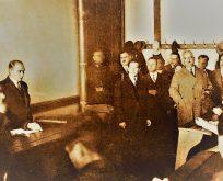 15 Aralık 1930 Atatürk İstanbul Üniversitesi'nde