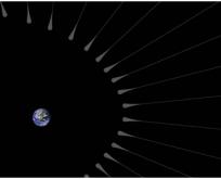 Dünya'nın çevresini karanlık madde kuşatmış