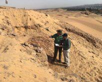 Mısır'da yeni firavun mezarlarına dair izler bulundu