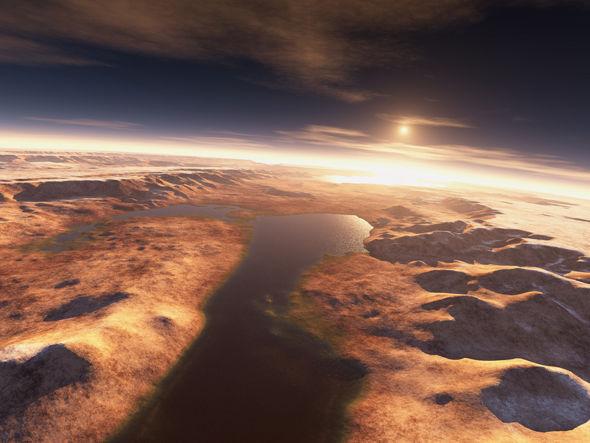 Mars'taki su oranı Arktik Okyanusu'ndan fazla