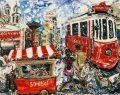 İstanbul aşığı ressamın sergisini kaçırmayın!