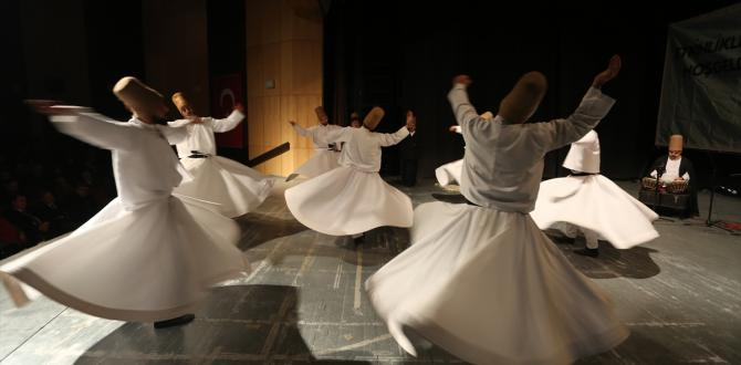 'Şeb-i Arus' Mevlana anma törenleri başladı