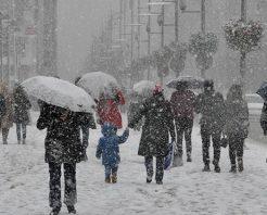 Yoğun kar yağışı kapıda!