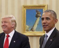 Trump'tan Obama ile ilgili flaş iddia