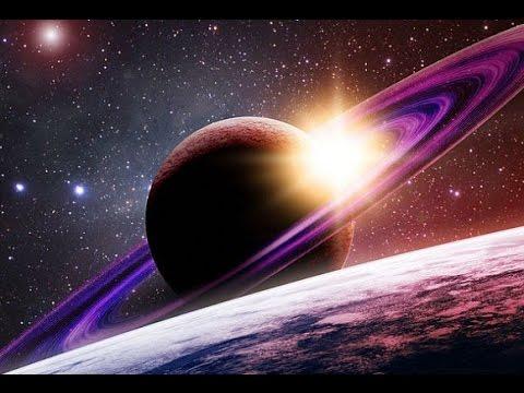 Sıra dışı gezegen Satürn ve halkaları