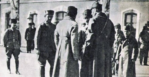 Mustafa Kemal Paşa Akşehir'de