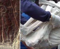 Peru'da yeni keşfedilen mumya uzaylılara mı ait?