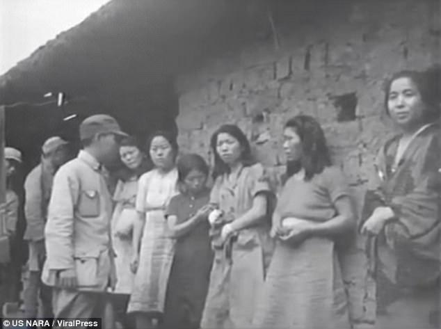 Japonya'nın seks köleliğine zorladığı kadınların videosu ilk kez yayınladı