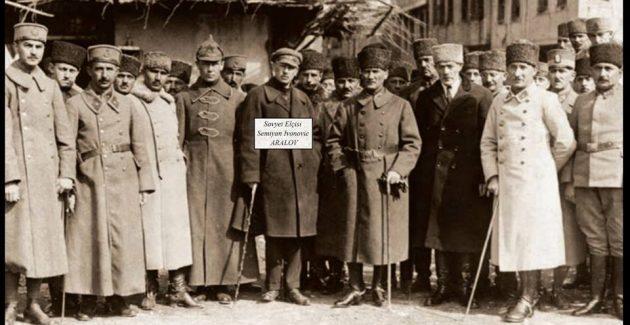 Atatürk'ün Abilov'u yoldaşı
