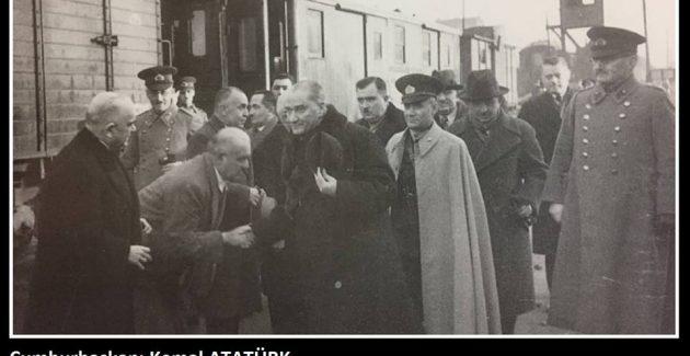 22 Ocak 1935 Atatürk İstanbul'da