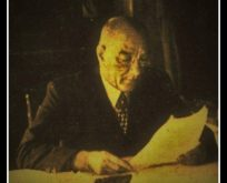Mustafa Kemal'den Rıza Tevfik'e kartvizit