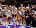 Galatasaray Kadın Basketbol Takımı EuroCup şampiyonu oldu