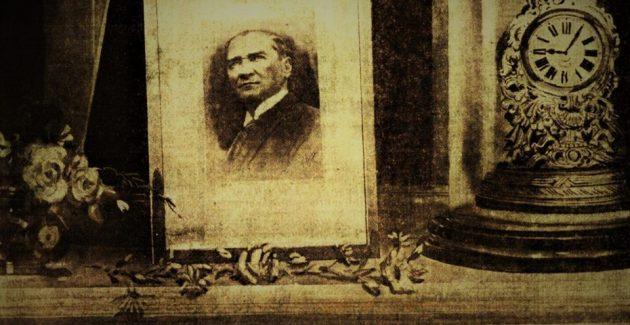 Bize inanan Atatürk'ün huzurundayız