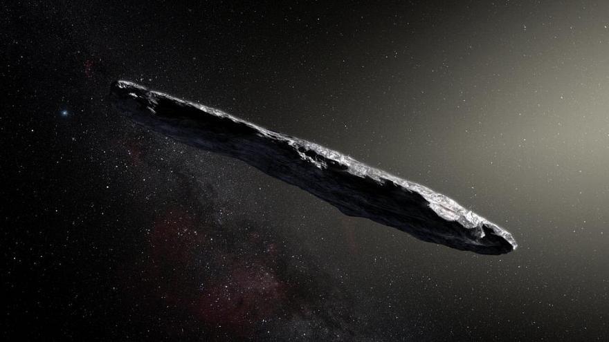 Başka bir gezegenden gelen uzay gemisi olabilir