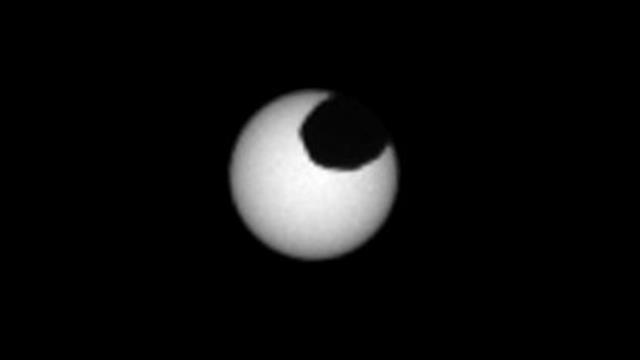 NASA Mars'taki güneş tutulmasını görüntüledi