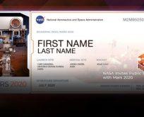 NASA'nın İsmini Mars'a Gönder Projesi'ne en çok Türkler başvurdu