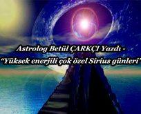 Sirius enerjili günler