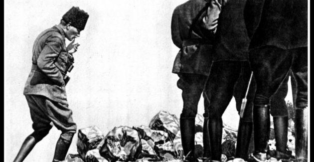 Başkomutan Gazi Mustafa Kemal Paşa anlatıyor