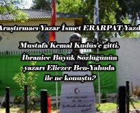 Mustafa Kemal'in Eliezer Ben-Yahuda ile Görüşmesi
