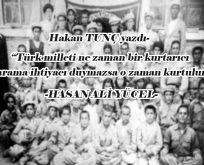 Köy Enstitüleri ve Hasan Ali Yücel